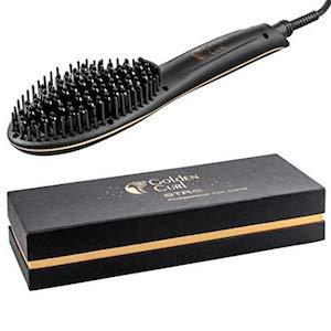 Golden Curl STR8 Haarglätter Bürste